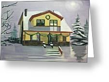 Dan's House Greeting Card