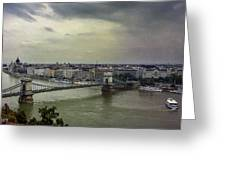 Danube River Greeting Card
