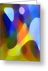 Dappled Light Greeting Card by Amy Vangsgard