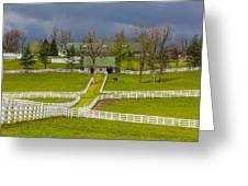 Darby Dan Farm Ky Greeting Card