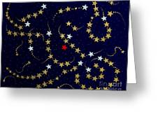 Dare To Be Different - Stars - Blazing Trails Greeting Card