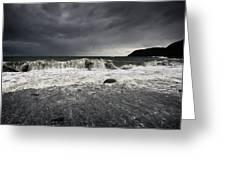 Storm Warning Greeting Card