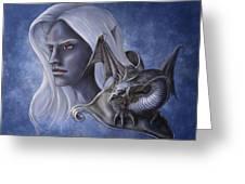 Dark Companions Greeting Card