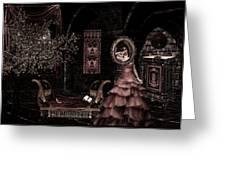 Dark Dream II Pretty As A Picture Greeting Card