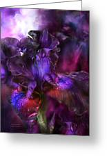 Dark Goddess Greeting Card