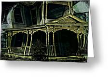 Dark House Greeting Card