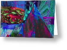 Dark Pyramid Greeting Card