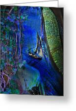 Dark River Greeting Card
