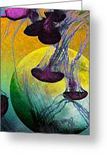 Dark Side Of The Moon 5d24939 Painterly M111 Long Greeting Card
