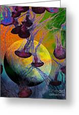 Dark Side Of The Moon 5d24939 Painterly M56 Greeting Card
