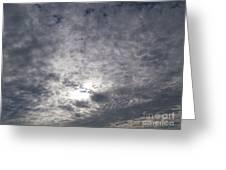 Dark Skyline Greeting Card