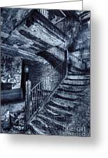 Dark Staircase Greeting Card