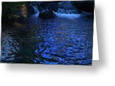 Dark Water Greeting Card