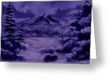 Dark Winter Greeting Card