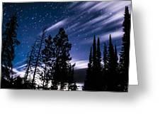 Darkness At Ledgefork Greeting Card