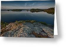 Darky Lake Greeting Card