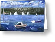 Darling Harbor Greeting Card