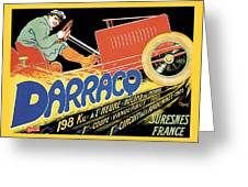 Darracq Suresnes France Greeting Card