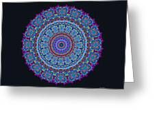 Darren's Mandala Greeting Card