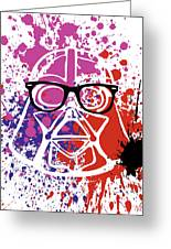 Darth Vader Corrective Lenses Greeting Card