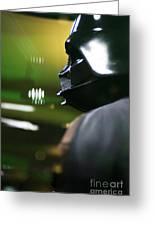 Darth Vader Greeting Card by Micah May