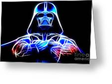 Darth Vader - The Force Be With You Greeting Card