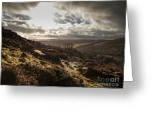 Dartmoor Drama Greeting Card