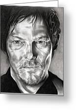 Daryl Dixon - The Walking Dead Greeting Card