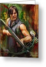 Daryl Dixon Walker Killer Greeting Card
