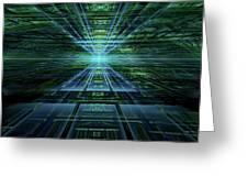 Data Pathways Greeting Card