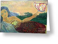 Daughter Earth Greeting Card