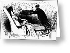Daumier: The Hypnotist Greeting Card
