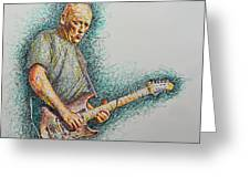 Dave Gilmour Greeting Card