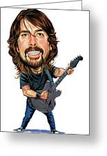 Dave Grohl Greeting Card by Art