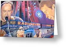 Dave Matthews And Tim Reynolds At Radio City Greeting Card
