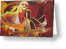 Dave Matthews At Vegoose Greeting Card