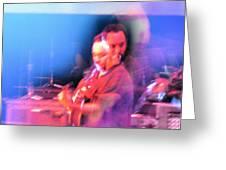 Dave Matthews Crazy Photo2 Greeting Card