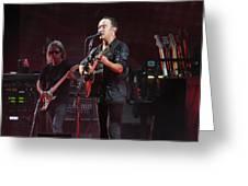 Dave Matthews Live Greeting Card
