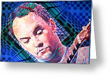 Dave Matthews Open Up My Head Greeting Card