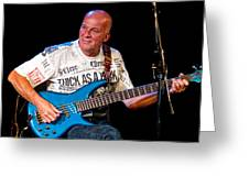Dave Pegg Bass Player For Fairport Convention And Jethro Tull Greeting Card