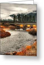 Daveys Bridge Greeting Card
