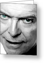 David Bowie In Clip Valentine's Day - 1 Greeting Card