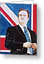 David Cameron 2010 Greeting Card