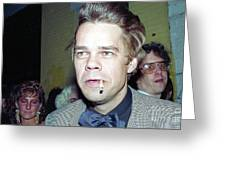 David Johansen 1988 Greeting Card