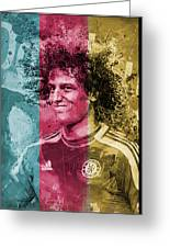 David Luiz - C Greeting Card