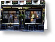 David's Pub Greeting Card