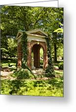 Davidson College Old Well Greeting Card