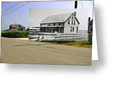 Davis House At Sakonnet Point In Little Compton Ri Greeting Card