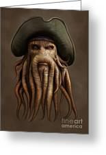 Davy Jones Greeting Card