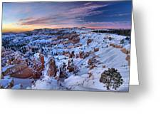 Dawn At Bryce Greeting Card
